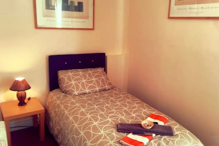 Single room in serviced apartment - Morecambe - Lejlighed