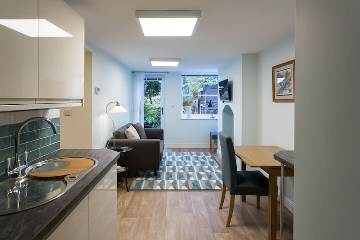 Cosy garden flat close to University and hospitals - Sheffield - Appartement