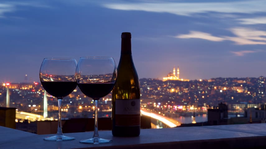 Fabulous view across the Golden Horn
