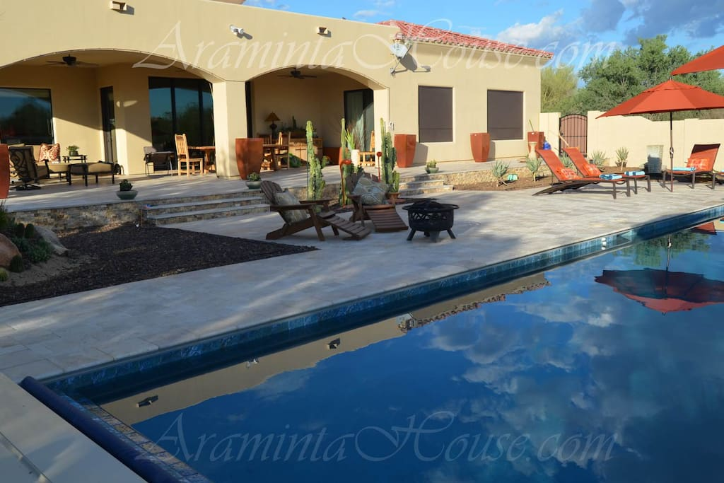 Your private luxury resort backyard in Cave Creek