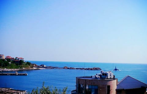 Room 6 with a seaview in House of Relax Ahtopol