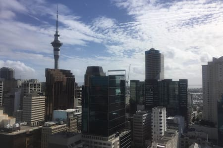 Private apartment in Auckl Central with great view - Auckland