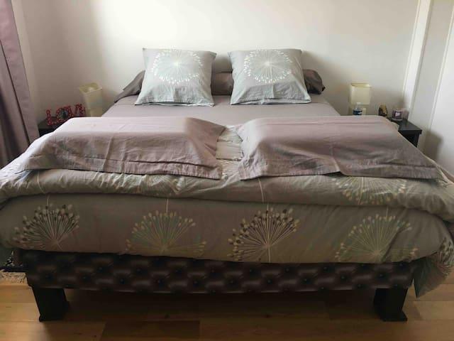 Chambre 1 - lit en 160