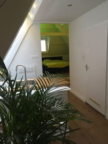 Comfortabel appartement in gallerie district