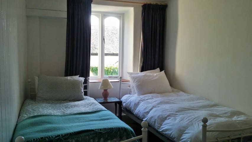 Twin room in the heart of Machynlleth