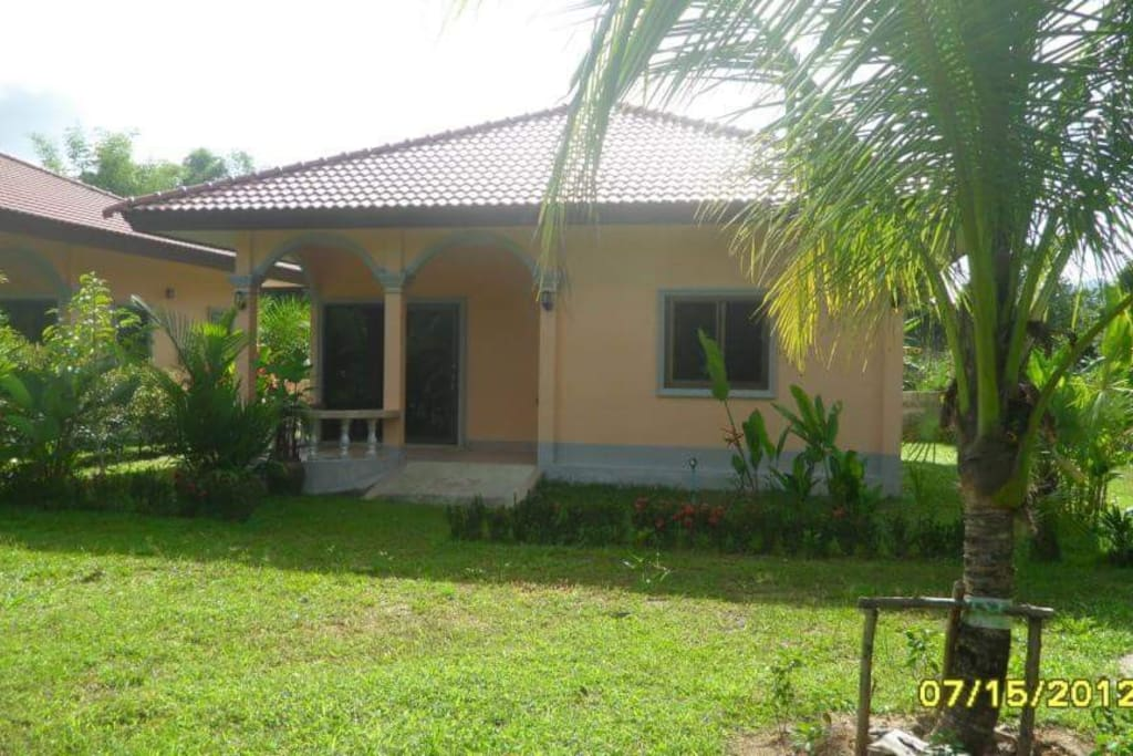 64m2 bungalow  2 bed room
