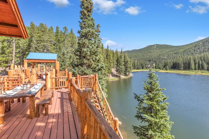 Lake Front cabin, Fish, hike and more...