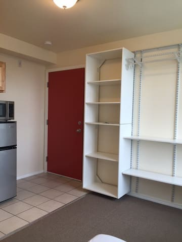 An affordable studio apartment at U district