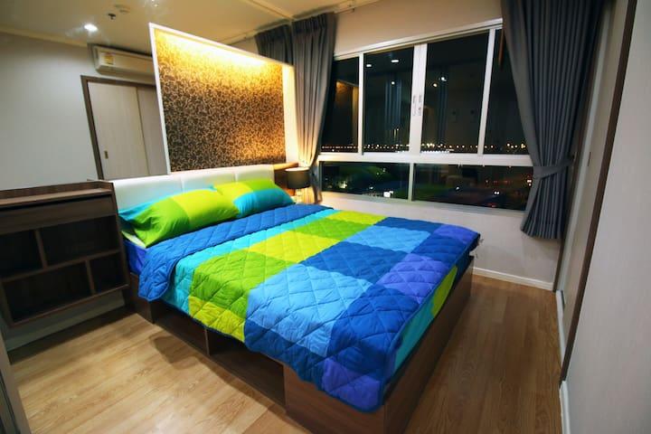 Studio Near Mega Bangna + Airport Room#2 - Tambon Bang Kaeo - Condominium