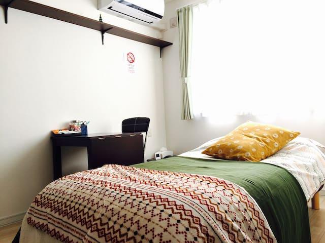 free Wi-Fi .10 min Odori Sta. Rent A bike OK. - Chūō-ku, Sapporo-shi - Appartement