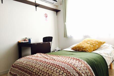 free Wi-Fi .10 min Odori Sta. Rent A bike OK. - Chūō-ku, Sapporo-shi - Apartamento