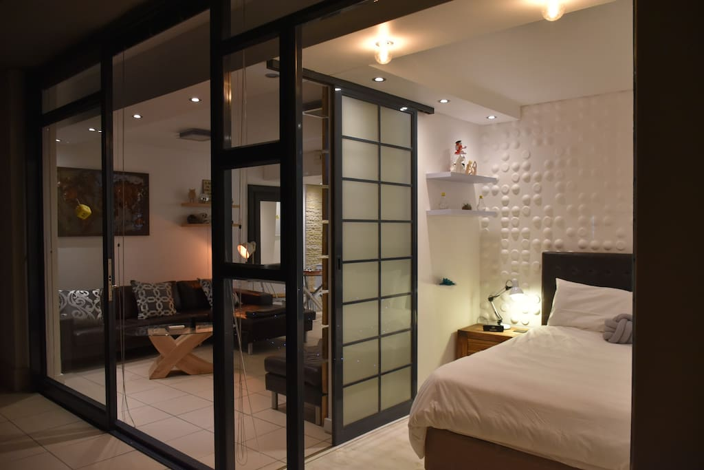 Lounge and Bedroom