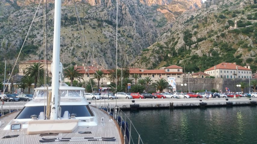 Old Town Kotor from the port