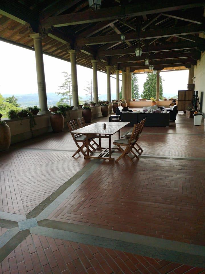 Historical Villa with 200 square metre terrace