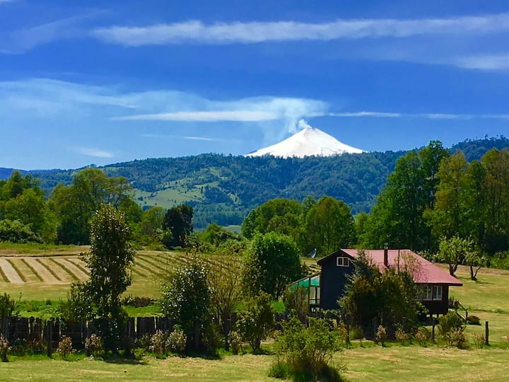 Mirador del Volcán, Licanray Villarrica