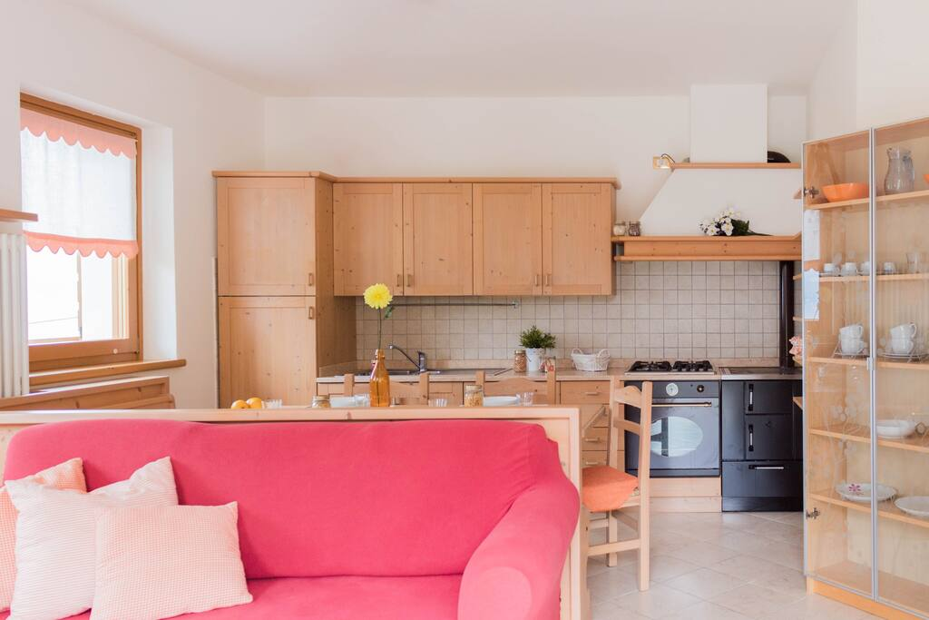 Linging room and Kitchen