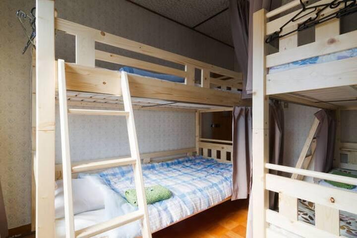 Male Dorm 4 people :WiFi /  6 min station