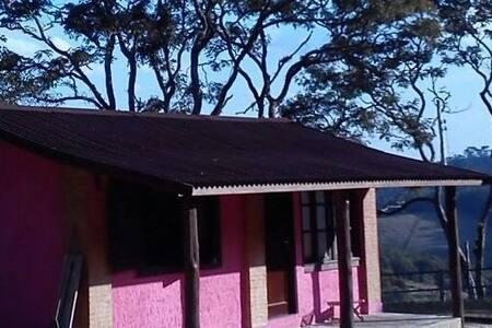 Chalé da montanha - Sítio Pasangas - Santo Antônio do Pinhal