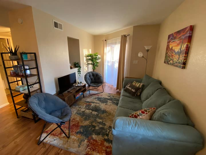 Cozy centrally located condo near UofA
