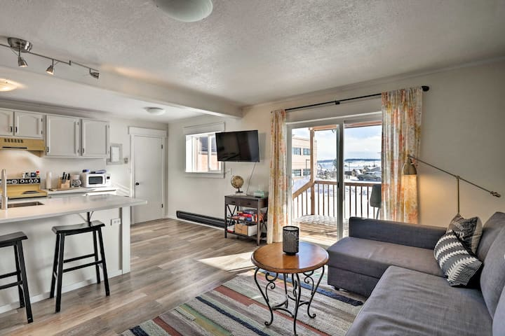 NEW! Heart-of-Fairplay Condo; Hike, Ski, & Fish!