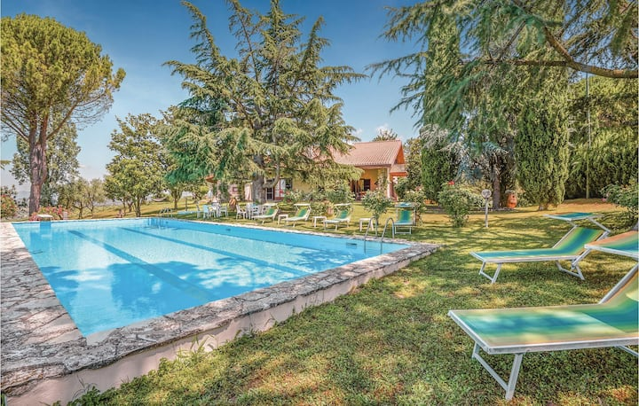 Nice home in Montopoli di Sabina RI with WiFi and 4 Bedrooms