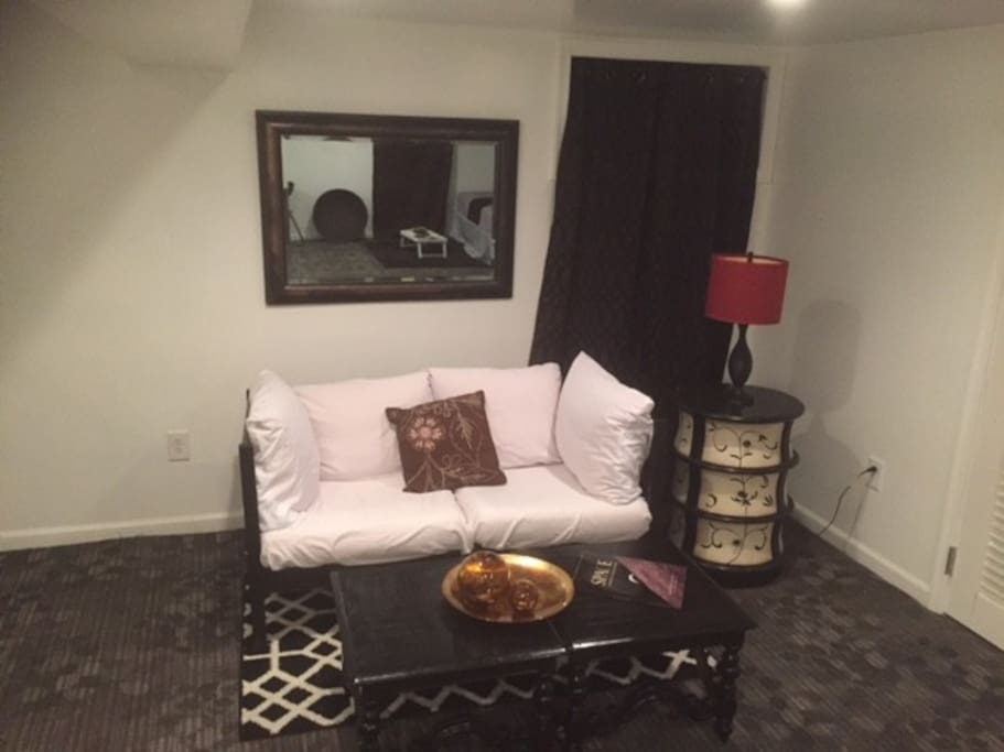 sitting area (staged)