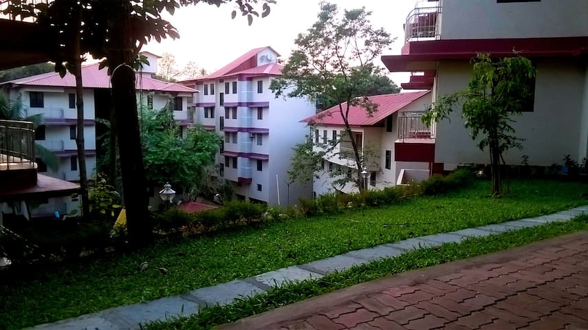 1 BHK Flat with all Amenities - Mapusa - Apartment