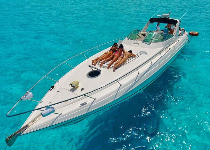 47ft $1000usd for 6 Hours inc Ceviche & all toys - Cancún - Barco