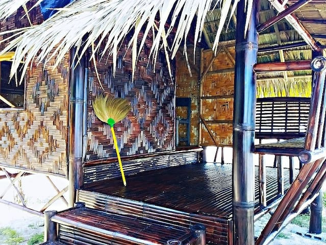 Bamboo Hut at Natural High Homestay