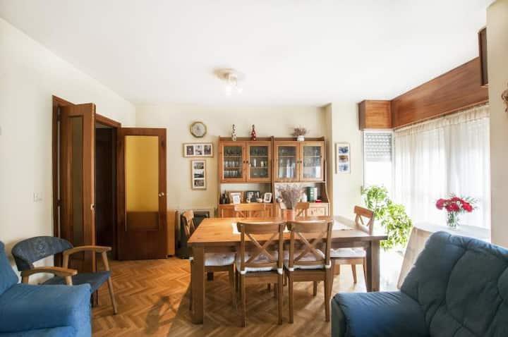 Alojamiento familiar en Madrid