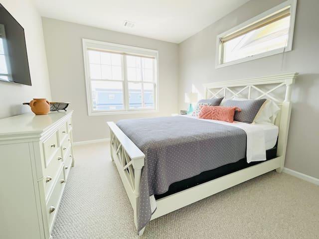 First Floor Queen Bedroom with Full Bath