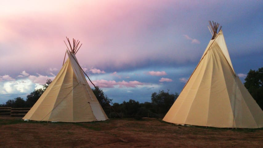 Ranch do Novo Mundo Tepee - 3 to 6p - Vila de Frades