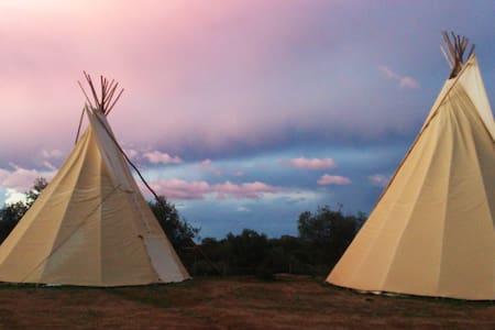 Ranch do Novo Mundo Tepee - 3 to 6p - Vila de Frades - Tipi