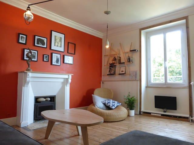 Maison Morlaix, Jardin, Centre-ville, 10 km plages - Morlaix - House