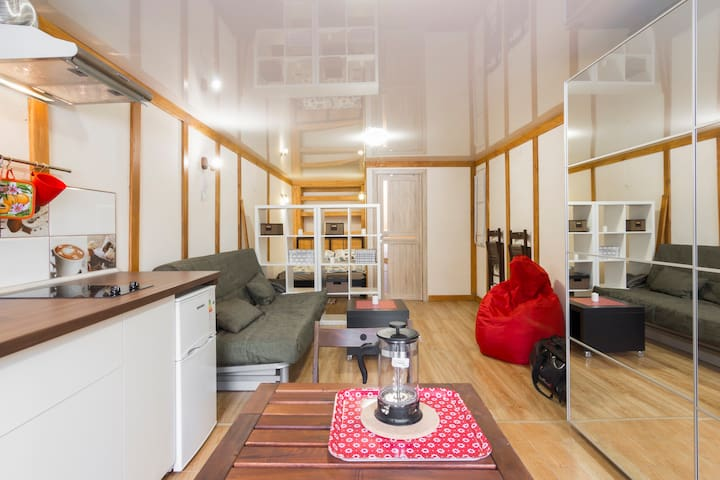 Квартира-студия в Красной поляне - Sochi - Appartement