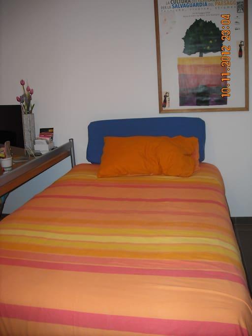 il letto francese,con un confortevole materasso