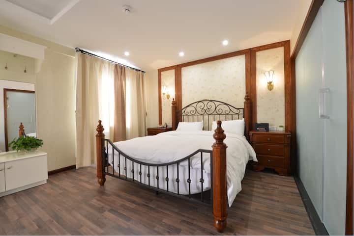 【随风客栈】崇礼·民宿 53m²温馨一室一厅 可住4人 近富龙雪场