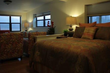 Luxury suite on 70 beautiful acres - Caddo Gap - Appartement