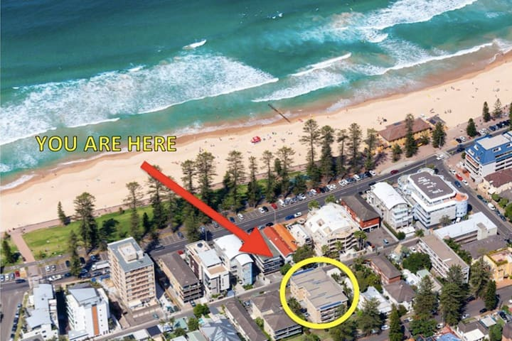 Stunning Manly Beach Apartment!