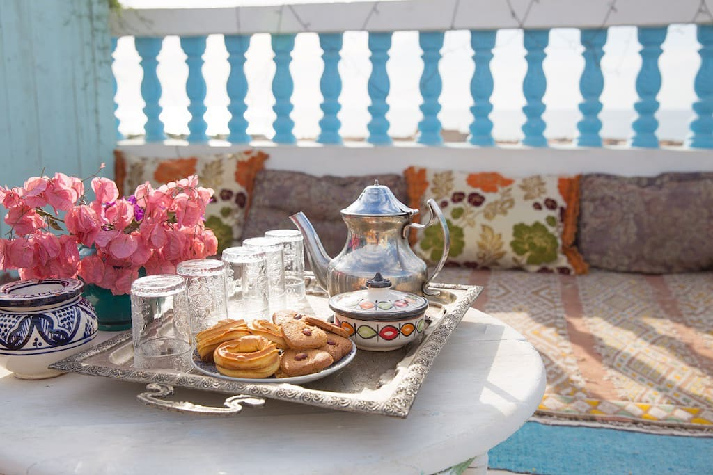 Enjoy your welcome tea on arrival