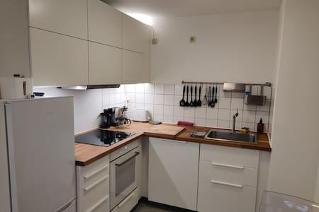 Helle 2 Zimmer Küche Bad Balkon Wohnung 50m² TG