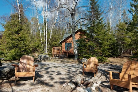 Elbow Lake Lodge White Birch Cabin