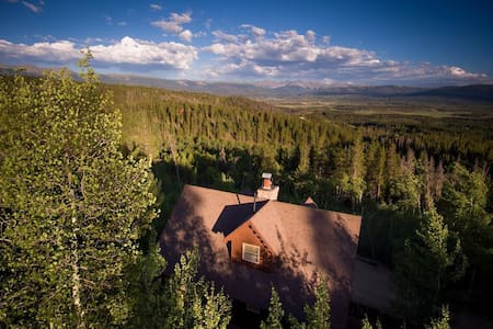 Spectacular Views from a Peaceful Cabin - Cabane
