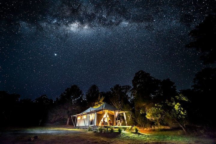 Kanimbia Luxury Glamping on  50acres