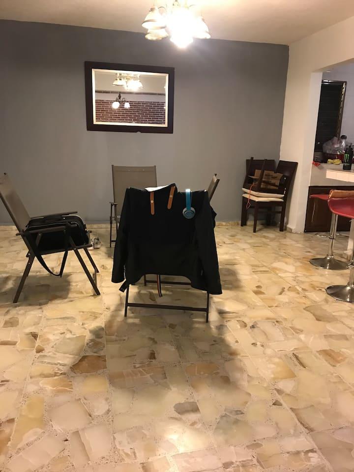 Alojamiento en Cuernavaca individual