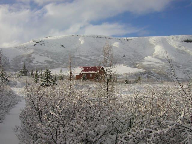 Sól við Brunná Holiday House Kirkjubæjarklaustur - IS - Hus