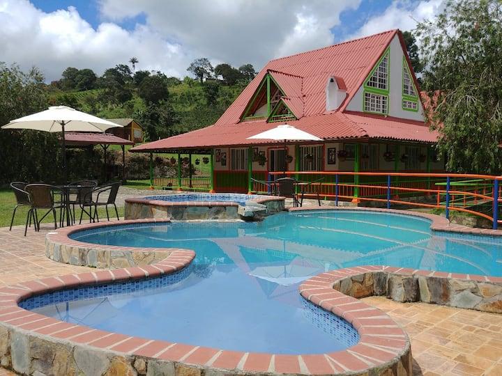 Eco Hotel Colibrí, Naturaleza, paz y tranquilidad