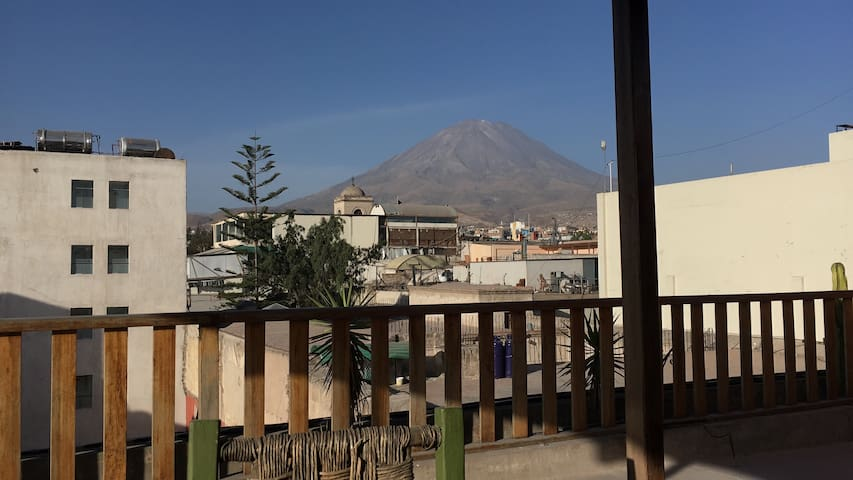 Linda Habitación en centro histórico de Arequipa
