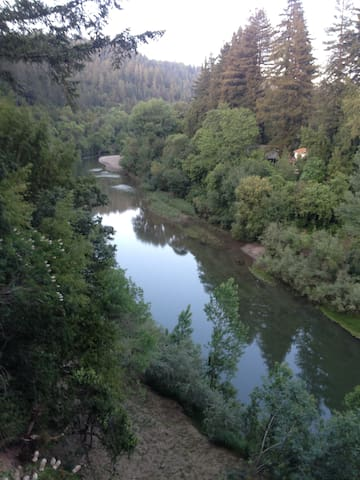 Wineries, biking, recreation on the Russian River