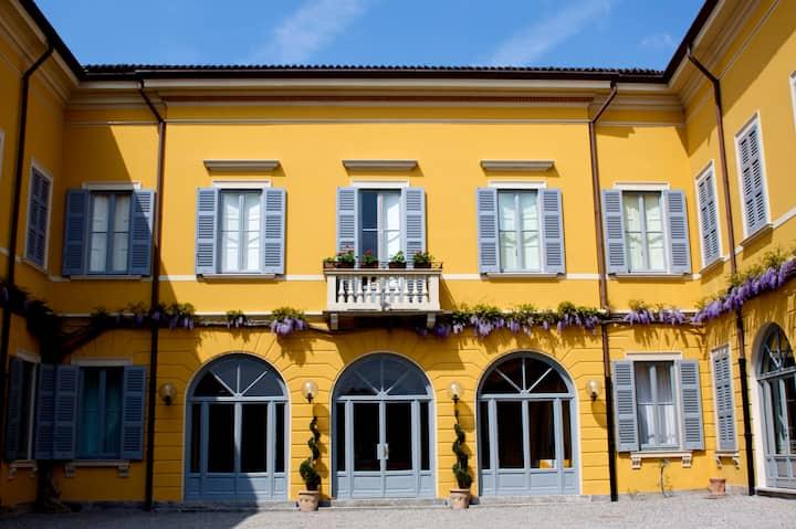 Camera Matrimoniale in Villa Lorenzo
